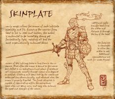 Skinplate codex by Inkthinker