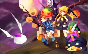 Happy Halloween DN INA by Toriichi