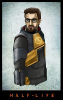 Gordon Freeman by Aeglos-Destiny
