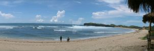 Welcome to Sadranan Beach, Yogyakarta by sayfhie