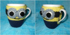 Minion mug by Spring-Fairy