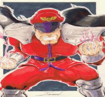 Street Fighter - M. Bison by MickaelLibai