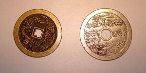 Chinese Luck Coins by MoonstruckStock