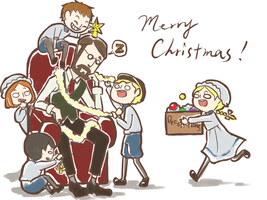 christmas at houndsditch by annetsai
