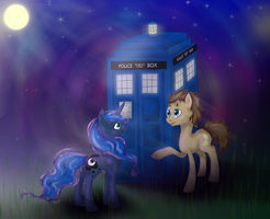 Dr. Whooves and Luna - The Perfect Companion by Alouncara