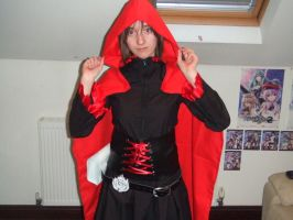RWBY Ruby Rose cosplay -W.I.P- (nearly complete!) by Miku-Nyan02