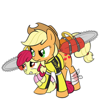 Applejack Greene by MattX16