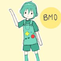 BMO (beemo?) by michelle-lennon9