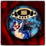 my vinyl scratch cd player (custom) by twitterfan