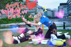 Tales of xillia 2 Happy super late valentine day by Asuka10