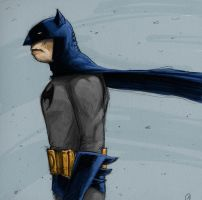 Batman in the wind by Axel13-Gallery