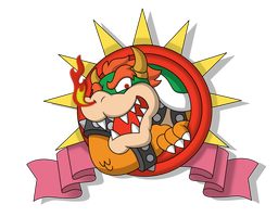 The Great Tower of Bowser World by TheFightingMongooses