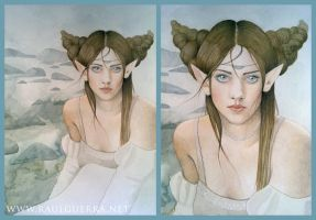 Maiden by the sea  study by chicourano