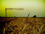 Proper Education by peter-bb