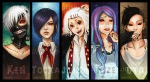 Tokyo ghoul by MicehellWDomination