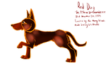 RED DOG by Foxxyheartz