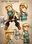 HTTYD: Astrid Hofferson by rinacat