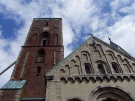The cathedral in Ribe by NimwenSiradon