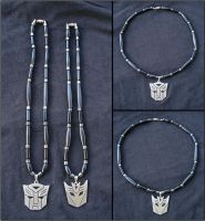 Transformers Autobots and Decepticons Necklace - 1 by RebelATS