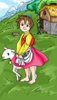 Heidi, Girl of the Alps by MonocleBunny