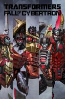 Transformers: Fall of Cybertron - Dinobots by IVAN430