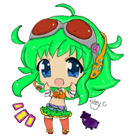 Gumi M. w/ colors by Nightmare-Night