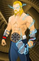 Thor Norse Style by Pramodace