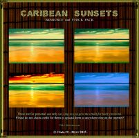 RESOURCE and STOCK: TROPICAL SUNSETS by CSuk-1T