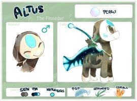 Altus the Finnedyr by Poketix