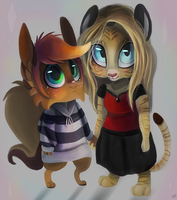 Sisters by TheStripedKit
