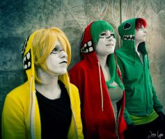 Vocaloid: Matryoshka- Line Up by Yonejiro