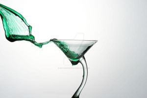 green martini by JMLproduction