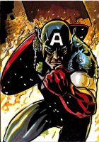 Cap Sketchcard Commission by Sigint