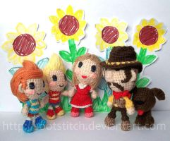 Sunflowers by sootstitch