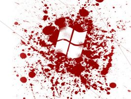 Bloody Windows by Fried-Tomato