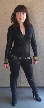 Black Widow Cosplay by TheDisappearingGirl