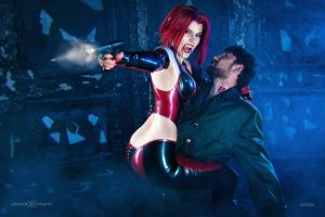 Bloodrayne cosplay ~ Any last words? by magmasaya
