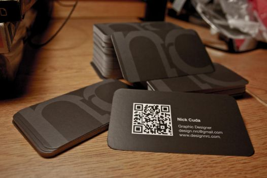 New Business Cards by ncuda91