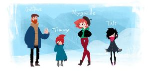 Hiver by LouVictorsk