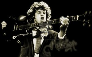 Angus Young by ellastasia