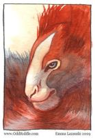 ACEO: creature by emla