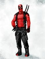 Deadpool redesign by xashe