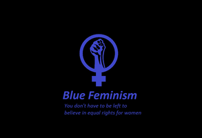 Blue feminism by Duke-Nidhoggr