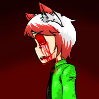 oh no i bloodied a vetchy by Blueshadow54