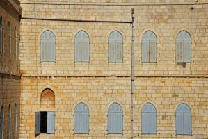 View from the ramparts walk, Old City, Jerusalem by dpt56