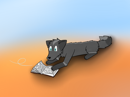 raven reading +gift+trade+ by CoolCodeCat