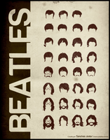 Beatles hairstyle by lame-chan