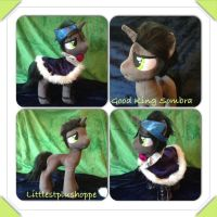 Good King Sombra FOR SALE by Littlestplushoppe