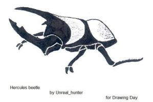 D-Day Hercules beetle by unreal-hunter