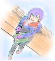 It's snowing :D by Luran-V